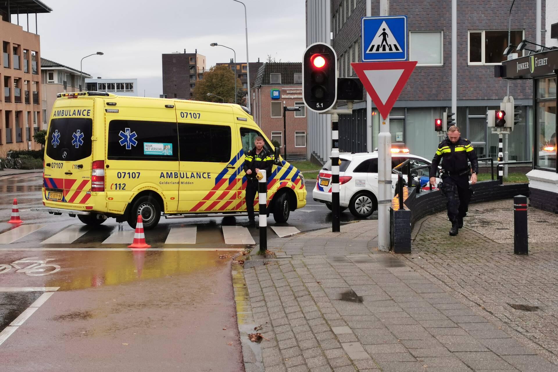 Fietsster gewond bij ongeval op de Klinkenbergerweg in Ede.